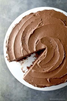 Perfect Chocolate Cake Recipe | via She Wears Many Hats