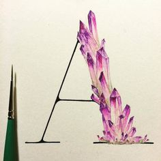 Do you like crystals? Do you like letters? Then too bad I don't have anything…