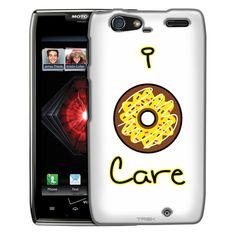 Motorola Droid Razr Maxx I Donut Care Yellow Slim Case
