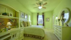 Beautiful white furniture in this girl's bedroom by Darling Homes at Tucker Hill 69s. #new #home #girlsroom #girlsbedroom
