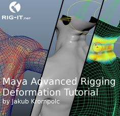 Maya Advanced Rigging Deformation Tutorial was created by rigging TD Jakub Krompolc to demonstrate various advanced techniques of creature deformation setups in clear and simple way. Each of the five chapters has Maya scene(s) and PDF document explaining the technique and where it should be used. This is ideal for riggers who would like to explore advanced ways to achieve realism and get more control over the shape of the deformation in their rig. Many of these techniques can be also applied…