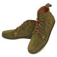 Polo Ralph Lauren Tahoma Chukka Boots ポロラルフローレン モカシンブーツ レザーシューズ 革靴 USA製【$395】[031]