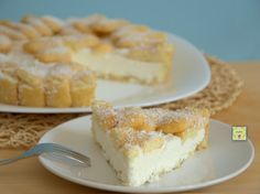 cool coconut cake with pavesini - torta fredda cocco e pavesini
