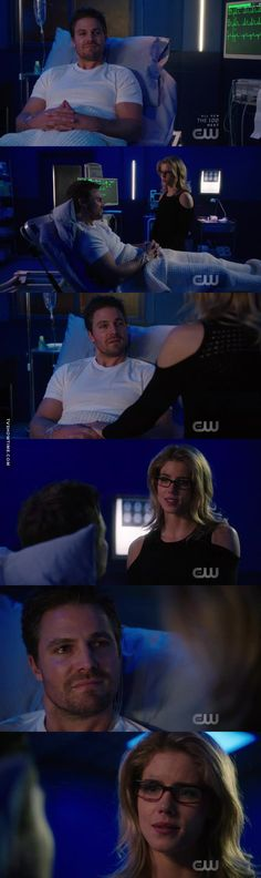 "#Arrow 5x20 ""Underneath"" - Oliver and Felicity"