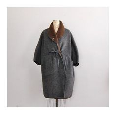 vintage 1960s BONNIE CASHIN cocoon coat by DearGolden on Etsy