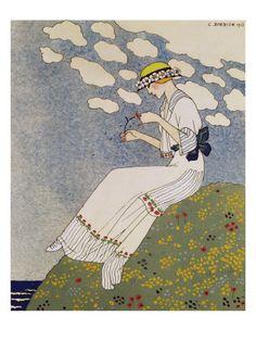 N'en Dites Rien, 1913 - Georges Barbier