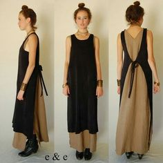 Image result for apron style dress pattern