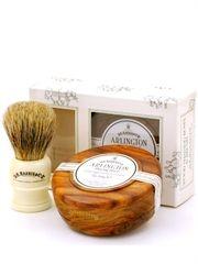 D R Harris Arlington - Shaving Soap + Shaving Brush Set - Brummells of London