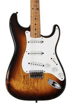 1958 Fender Stratocaster guitar www.vintageandrare.com