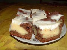 Kráter szelet receptje Taktaszadáról - Ízőrzők Cheesecake, Pudding, Drinks, Food, Drinking, Beverages, Cheesecakes, Custard Pudding, Essen