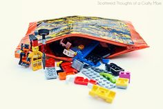 Duct Tape Zippered Pouch - PURSES, BAGS, WALLETS