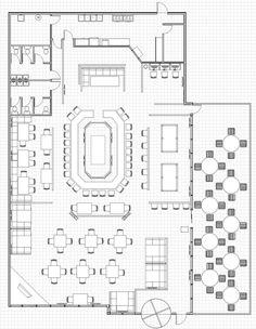 small restaurant square floor plans | every restaurant needs