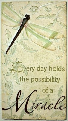 I believe in miracles. Miracles are all around me Miracles happen every day! Great Quotes, Quotes To Live By, Me Quotes, Inspirational Quotes, Random Quotes, Sign Quotes, Family Quotes, Motivational Quotes, Dragonfly Quotes