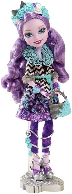 Amazon.com: Ever After High Spring Unsprung Kitty Chesire Doll: Toys & Games