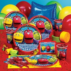Chuggington Party Pack