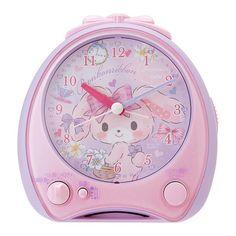 BonBon Ribbon alarm clock Pink (cake) Sanrio Kawaii Cute gift F/S NEW
