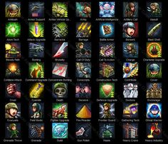 Strategy War Game Actions - Strategy War Game action icons are set of actions icons, suitable for military themed actions games, war games, strategy games, contain wide variety of cute character and action, can be renamed to match the skills in your game.