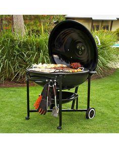Gigantic grill:)