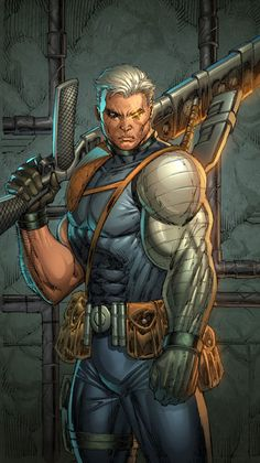 Cable by Rob Leifeld