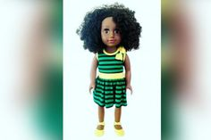 """A motherhas made what is believed to be the world's first Jamaican patois-speaking doll after struggling to find a toy that """"encapsulated the Caribbean culture"""" for her young daughter. Toy firm Zuree — founded by Saffron Jackson, 38 — is behind the Toya doll, which has a dark skin tone, Afro hair and stands about 18in tall. Toya talks and tells children of her home country and culture in patois, an English-based Creole language with West African influences which isspoken in Jamaica."""