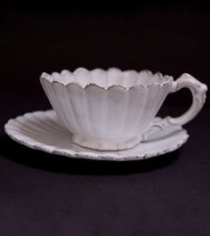 Astier de Villatte Tea Cup & Saucer: My future home will have lots of Astier de Villatte!