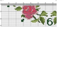 Ring of Roses Clock Cross Stitch Rose, Cross Stitch Borders, Cross Stitch Animals, Cross Stitch Flowers, Counted Cross Stitch Patterns, Cross Stitch Charts, Cross Stitch Designs, Cross Stitching, Cross Stitch Embroidery