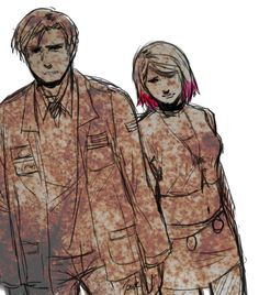 james and maria - silent hill