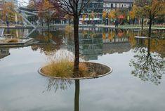 Millenary Park. Budapest.  Újirány Landscape Architects