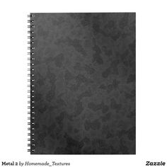 Shop Metal 2 notebook created by Homemade_Textures. Game Textures, Metal Texture, Custom Notebooks, Personalized Stationery, Diy Face Mask, Dog Design, Your Image, Personal Style, Black And White