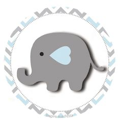 Baby Elephant in Grey and Pink Chevron: Free Printable Boxes and Free Party Printables. Elephant Baby Showers, Baby Boy Shower, Dibujos Baby Shower, Chevron Rosa, Baby Elefante, Birthday Decorations At Home, Baby Shawer, Baby Fan, Baby Shower Invitations