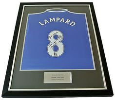 Frank lampard signed #framed shirt #photo #autograph chelsea football name #8 coa,  View more on the LINK: 	http://www.zeppy.io/product/gb/2/391573276870/