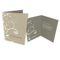 Designvorlage - Geburtstagseinladung als Klappkarte Din A5 im abstrakten Design.   Online-Druck.biz   #birthday #print #design