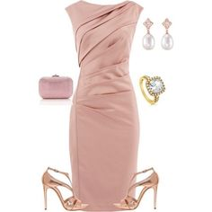 Mother of the bride dress ~ pretty and functional as well - can be worn for other occasions