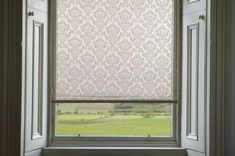 Custom Roller Shades ~ The Petra Elegant Home Decor, Elegant Homes, Diy Home Decor, Diy Window Shades, Lace Window, Thing 1, Roller Shades, Window Coverings, Window Treatments