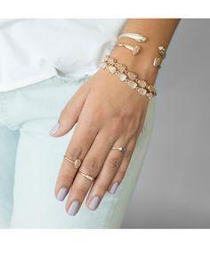 Haylee Ring in Rose Gold Drusy - Kendra Scott Jewelry.