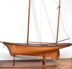 A detailed static model boat… - The Graham Geddes Relocation Auction, Day 2 - Leonard Joel Pty. Ltd. - Antiques Reporter