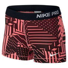 Women's Nike Pro Patchwork 3 Inch Shorts