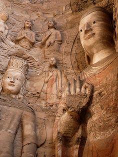 Yungang Grottoes  China