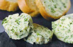 Simon's Kitchen: Home made garlic butter.