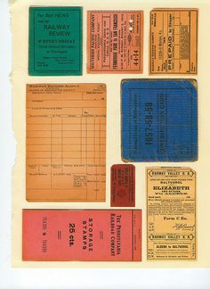 Somerset Studios - Stampington & Company Collage Clips | Flickr - Photo Sharing!