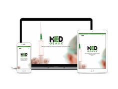 Med Geaux Medical Waste Disposal Website Design by Young's Web Designs (337) 517-0711 or clay@youngswebdesigns.com #webdesign #webdevelopment #webdesigner #medical #medicalwaste #biohazard #digitalagency #youngswebdesigns