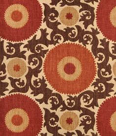 Braemore Fahri Clove - this fabric would look great on my kitchen chairs.