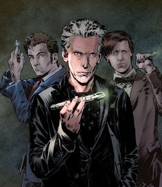 The doctors by FabianCobos on DeviantArt