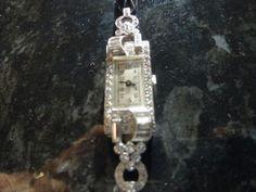Antique Vintage Watches for Sale Online Antique Watches, Vintage Watches, Watch Sale, Watches Online, Square Watch, 1920s, Cocktails, Diamond, Antiques