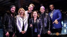 Watch Pentatonix concert highlights, plus pre-show interview with Loni Stark. World tour, creative process, choreography and more. Pentatonix, Falling In Love, Interview, Bomber Jacket, Actors, Concert, West Coast, Highlights, Scene