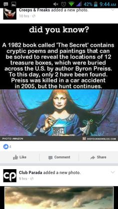 The Secret by Byron Preiss. I wonder where I can find this.