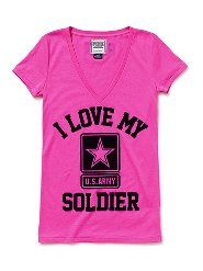 I Love My Soldier- VS Army Line. I want this