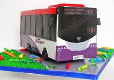 Celebrate with Cake!: SBS Bus Cake
