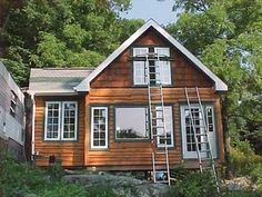 Custom Made Small Mini Tiny Cabin Cottage House - Small Living