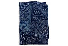 Batik Panel w/ Patches